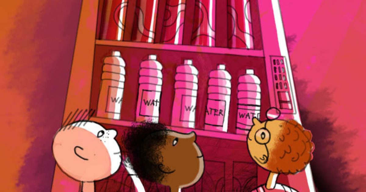 A New Way to Persuade Kids to Drink More Water and Less Soda