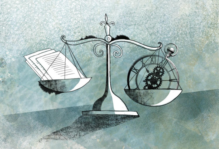 Multitasking to strike a balance between time and workload