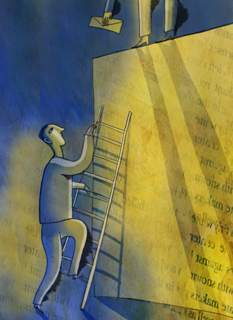 Keeping employees motivated when there's no ladder to climb can be tough.